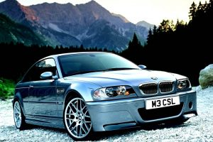 Bmw M3 Csl In Mountains