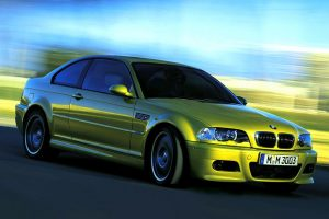 Bmw M3 In Movement