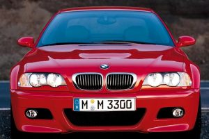 Bmw M3 Red 2008