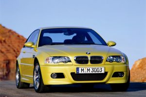 Bmw M3 Yellow