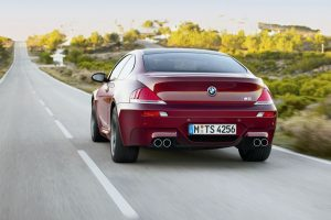 Bmw M6 On The Road