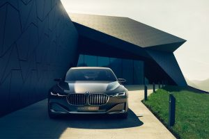 Bmw Vision Future Luxury Car Wide