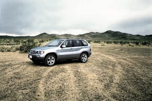 Bmw X5 On Field