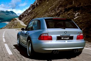 Bmw Z3 M Coupe On The Road