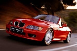 Bmw Z3 Red Max Speed On Road Wide