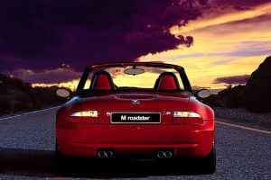 BMW Z3 Roadster Red