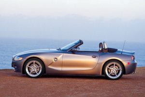 Bmw Z4 Coupe Near Lake