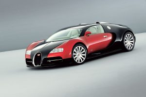 Bugatti Veyron 16 4 Black Red