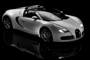 Bugatti Veyron 16 4 Grand Sport Front View Wide