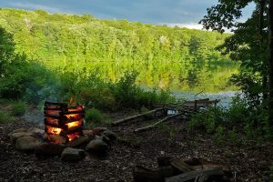 Campfire In The Mountain Wide