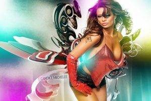 Candice Michelle Abstract