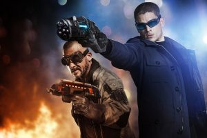 Captain Cold Heat Wave The Flash Wide