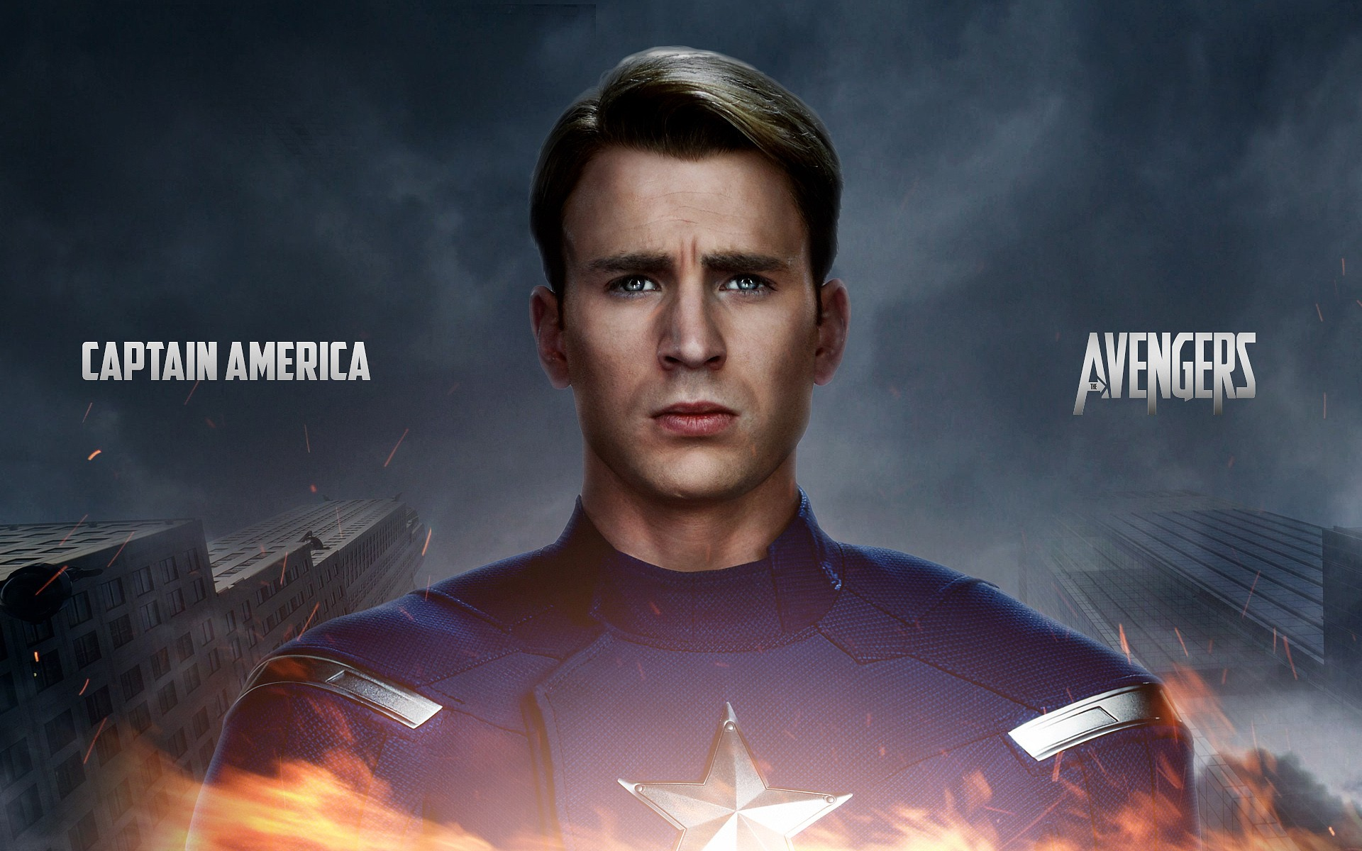 Captian America The Avengers 2 Wide