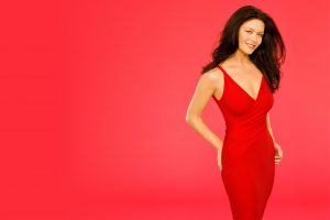 Catherine Zeta Jones In Red