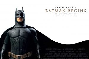 Christian Bale In Batman Begins Movie Poster-Other