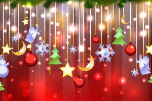 Christmas And New Year Wide