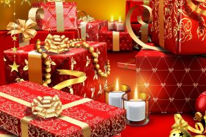 Christmas Gifts Beautiful Red