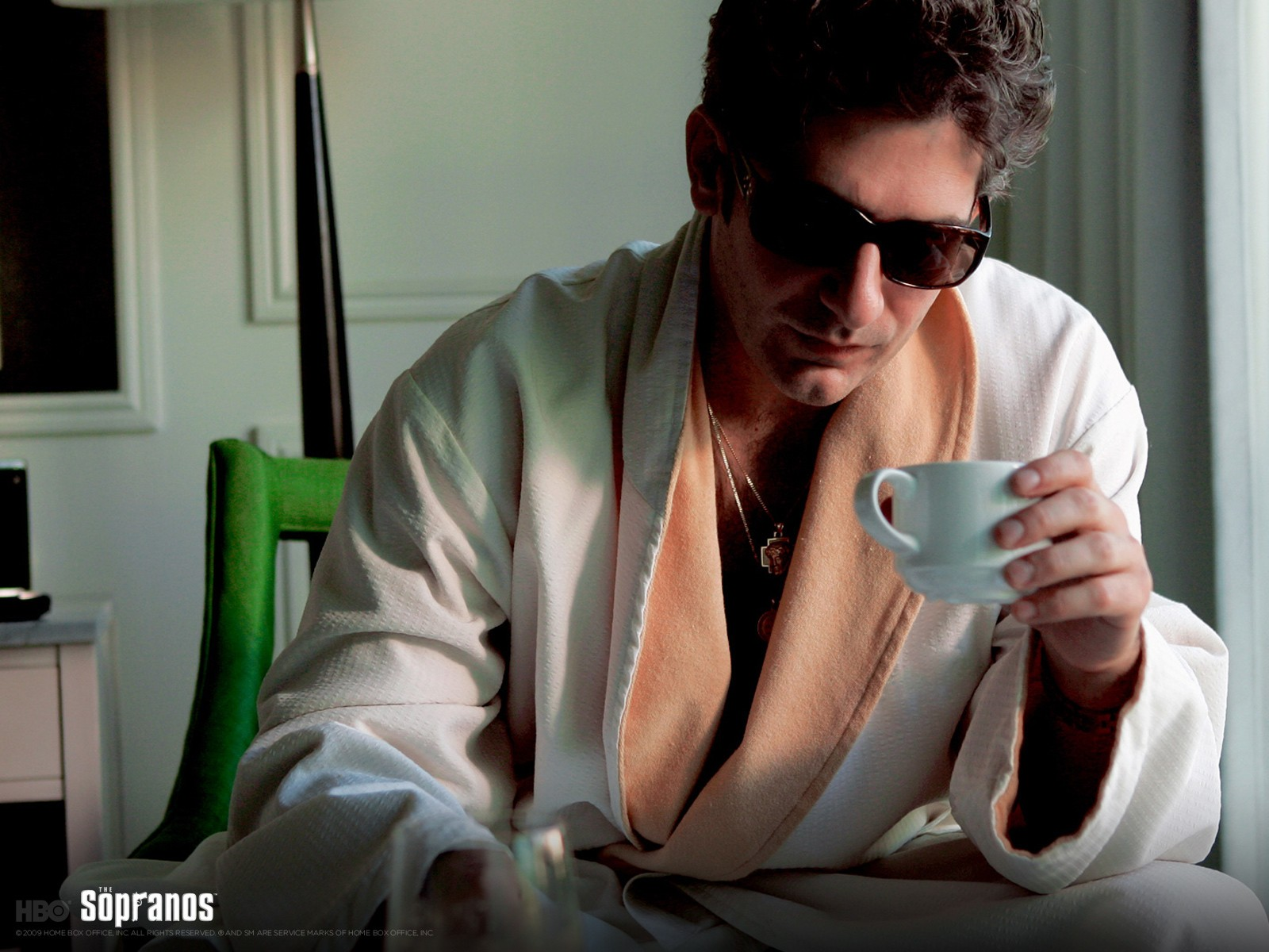 Christopher Moltisanti Morning Coffe