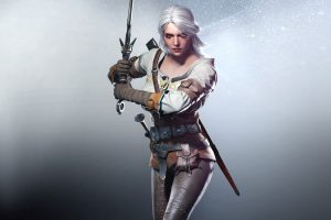 Ciri In The Witcher 3 Wild Hunt Wide