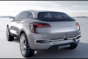 Citroen Hypnos Rear View Wide