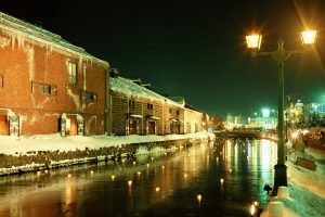 City River At Winter Wide