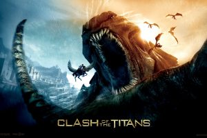 Clash Of The Titans Movie Poster Wide