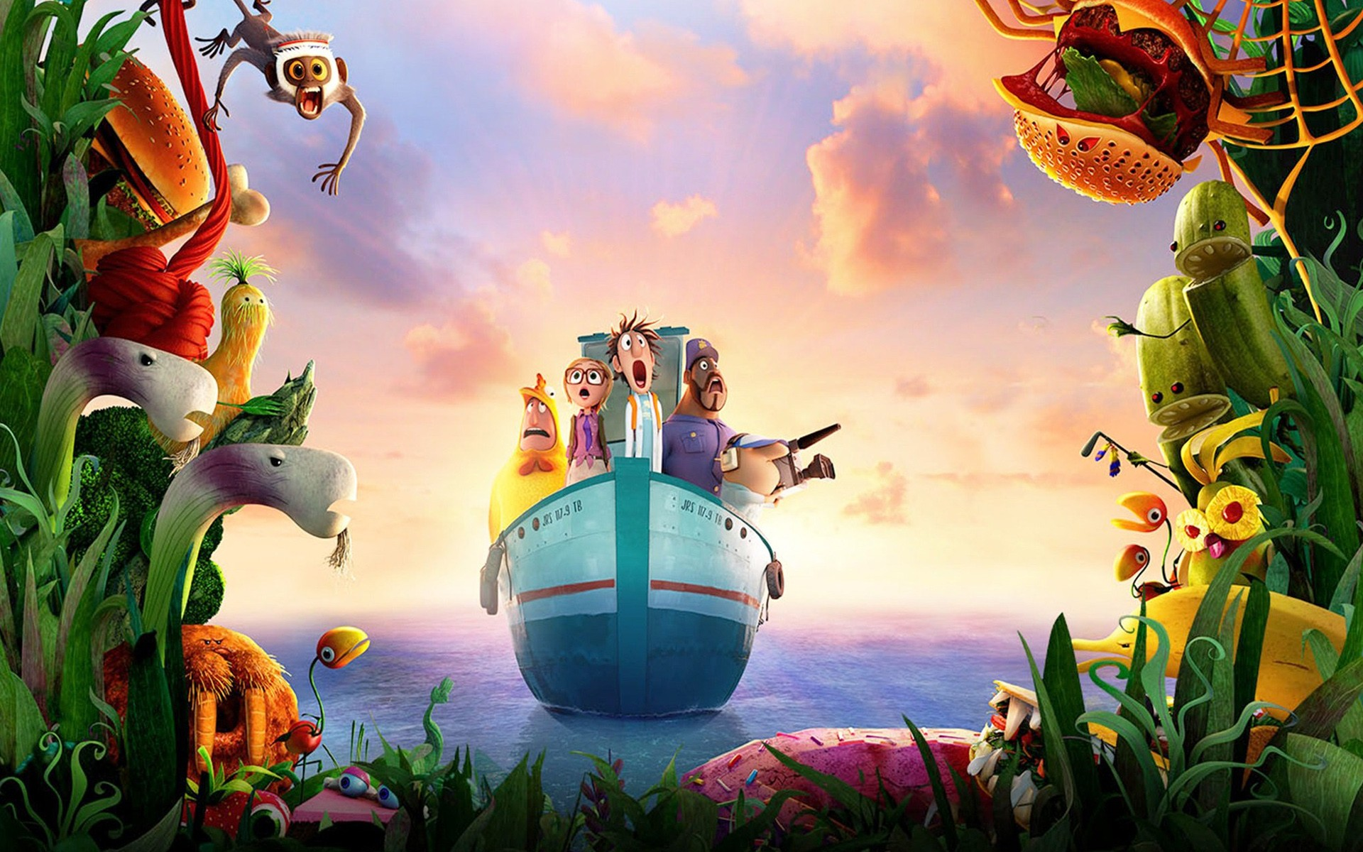 Cloudy With A Chance Of Meatballs 2 Movie Wide
