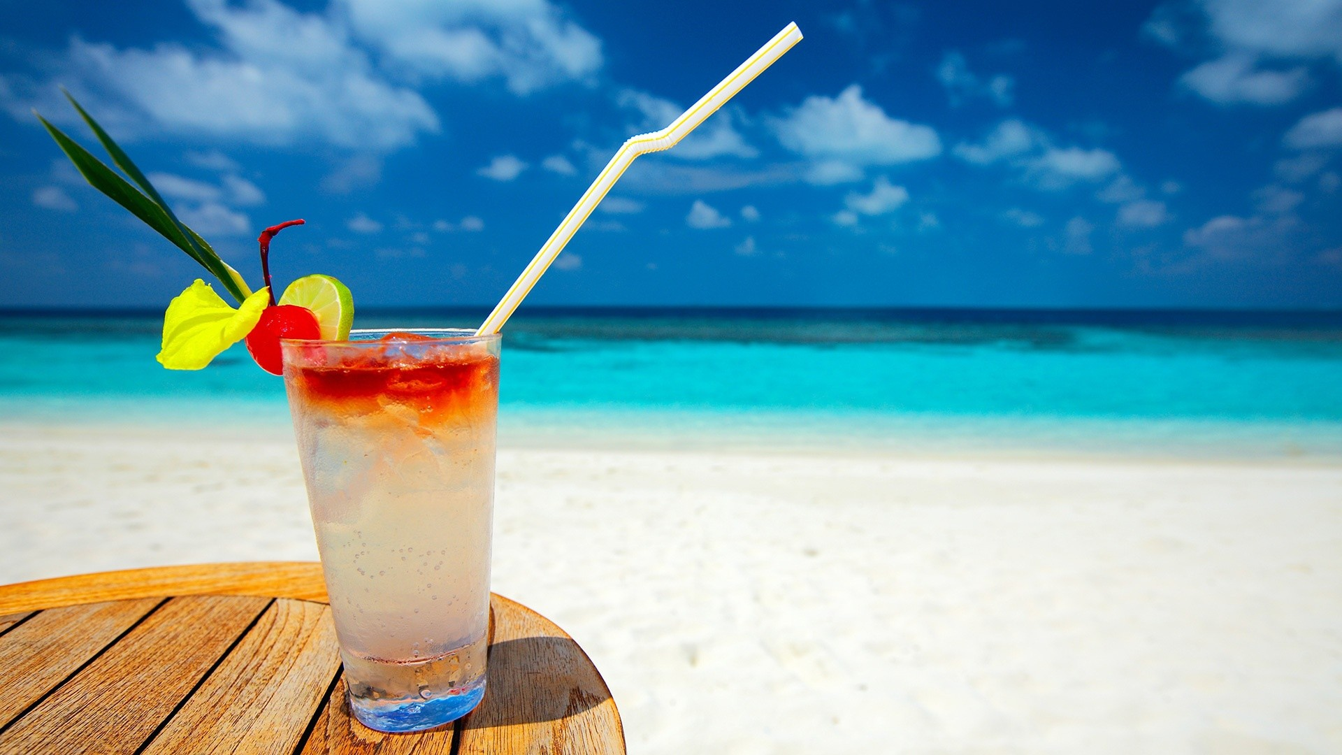 Cocktail At The Beach