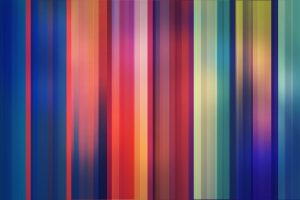 Colorful Stripes Wide
