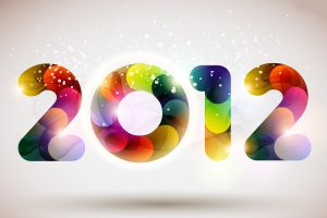 Cool 2012 New Year Wide