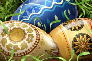 Cool Easter Eggs Wide