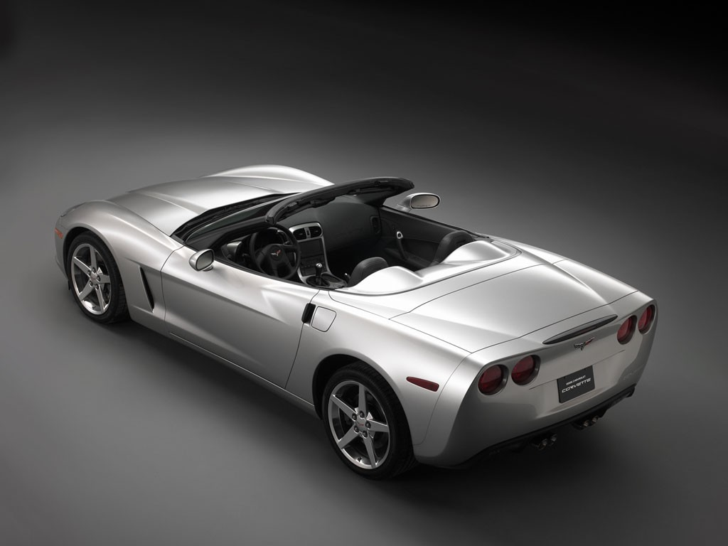 Corvette Convertible Top View