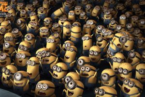 Crowd Despicable Me Wide