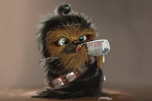 Cute Baby Chewbacca