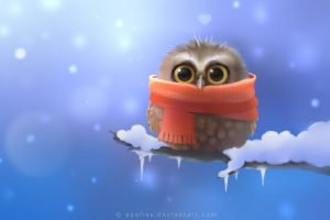 Cute Freeze Owl