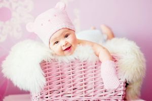 Cute Laughing Baby Wide