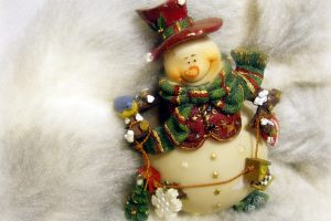 Cute Xmas Doll Wide