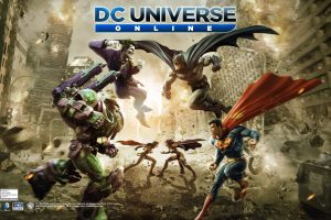 Dc Universe Hero Fight Wide