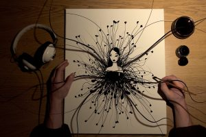 Dj Artist Makes Picture Alive