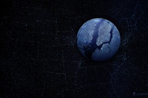Earth From Space Wide