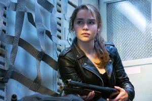 Emilia Clarke As Sarah Connor Wide