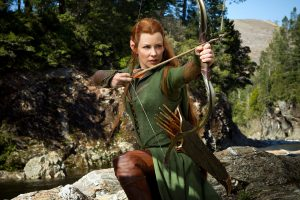 Evangeline Lilly As Tauriel In Hobbit Wide