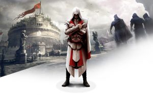 Ezio In Assassins Creed Brotherhood Wide
