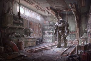 Fallout 4 Armour Wide