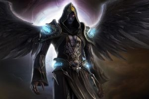 Fantasy Art Dark Angel