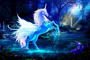 Fantasy Digital Art Unicorn