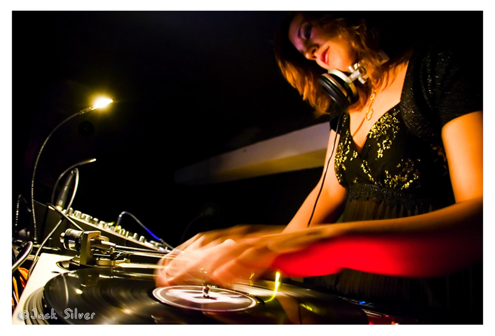 Female Dj In Live Stage Other