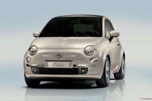 Fiat 500 Front View Wide