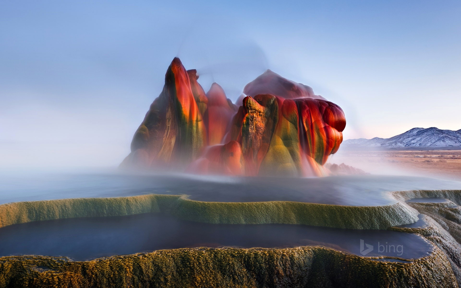 Fly Ranch Geyser Wide
