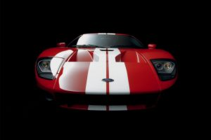 Ford Gt Great Abstract Background